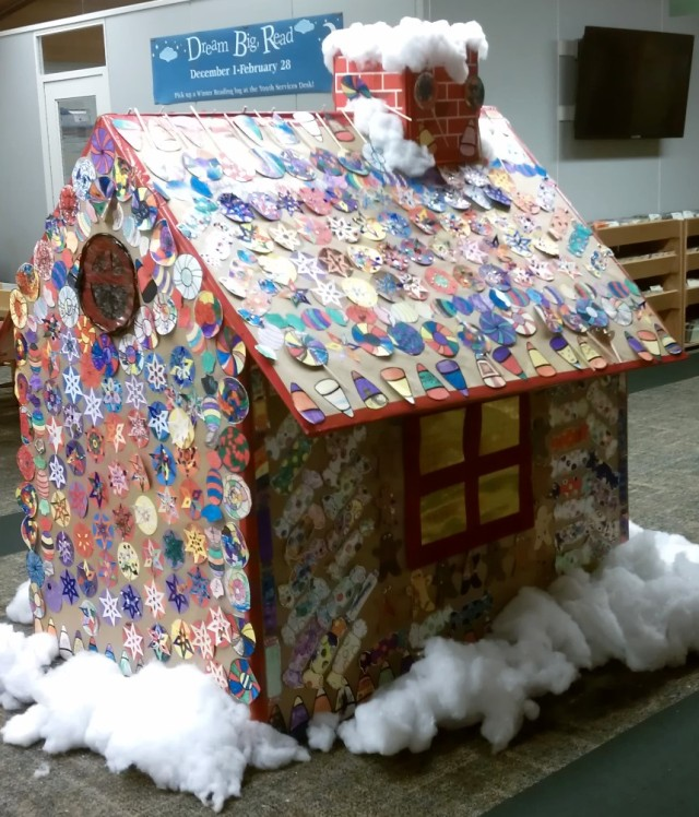 2012 Niles Public Library Giant Gingerbread House