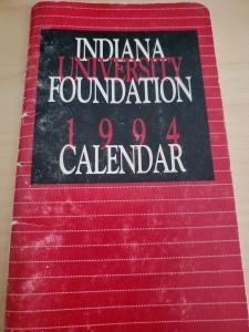 1994 calendar cover